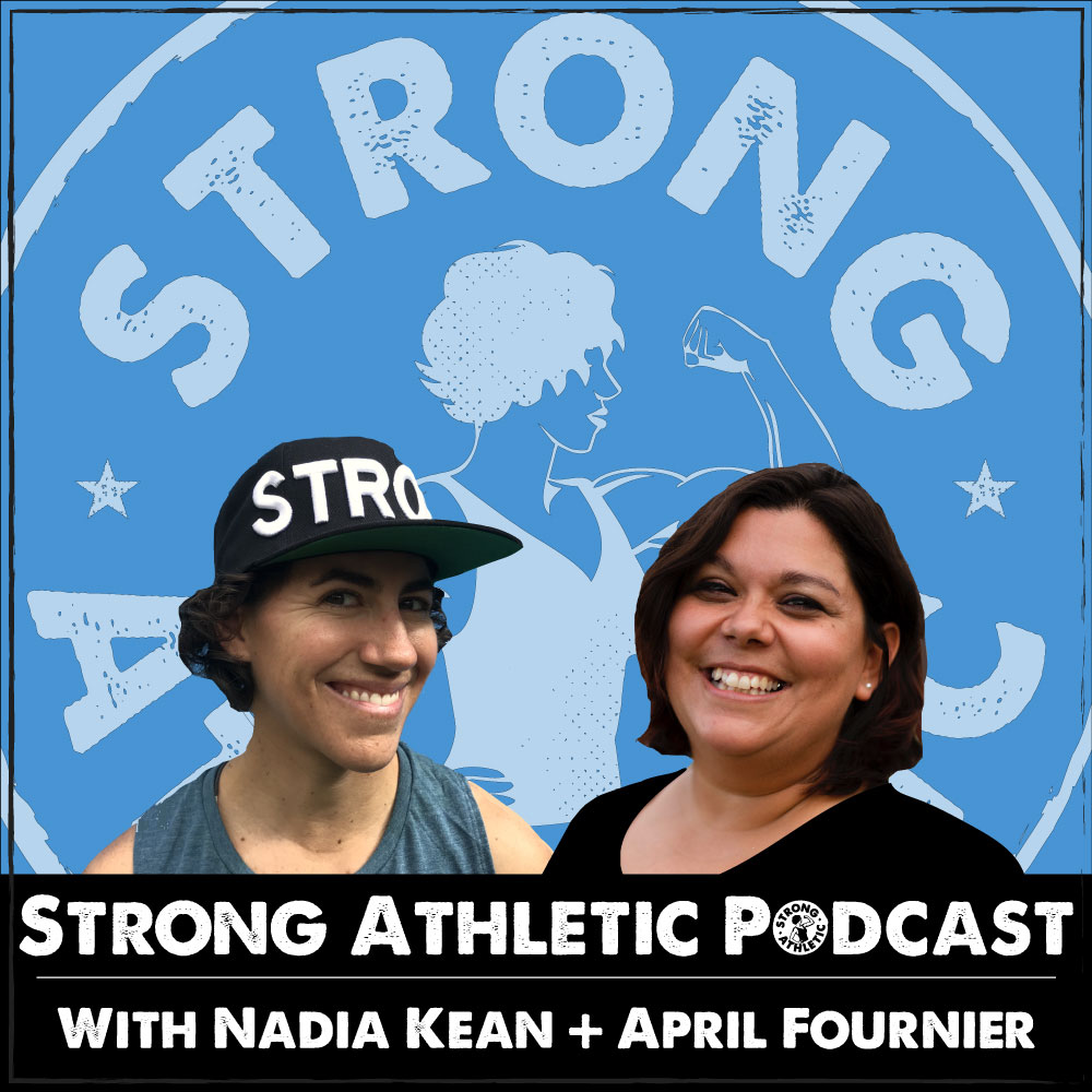 Podcasts about sports culture, learning how to coach and learning how to be coached the Strong Athletic Podcast